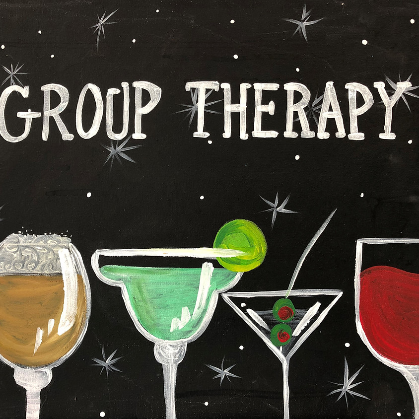Canvas Paint: Group Therapy