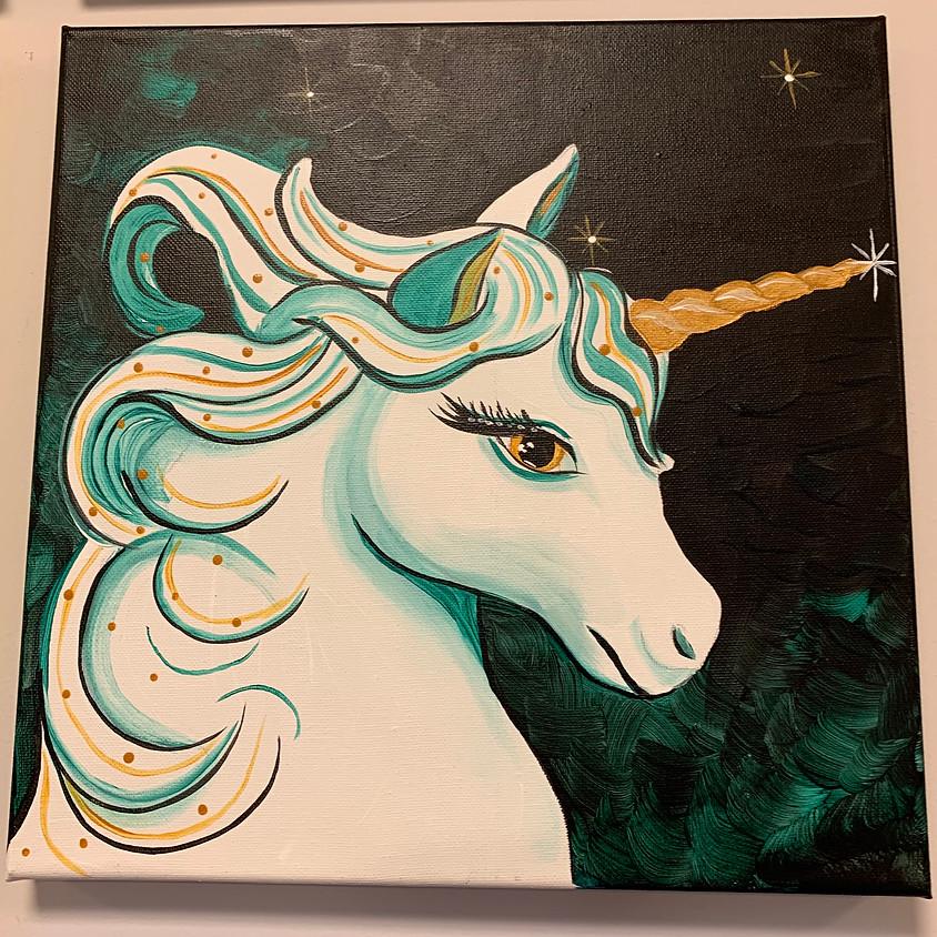 Canvas Paint: Unicorn