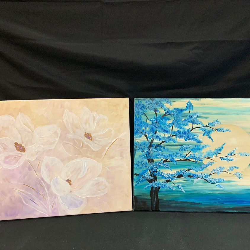 Canvas Paint: Ready for Spring!