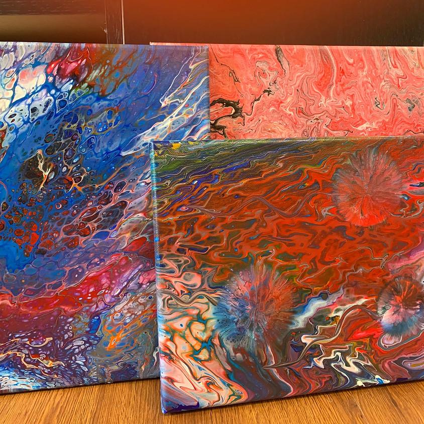 Workshop: Paint Pouring