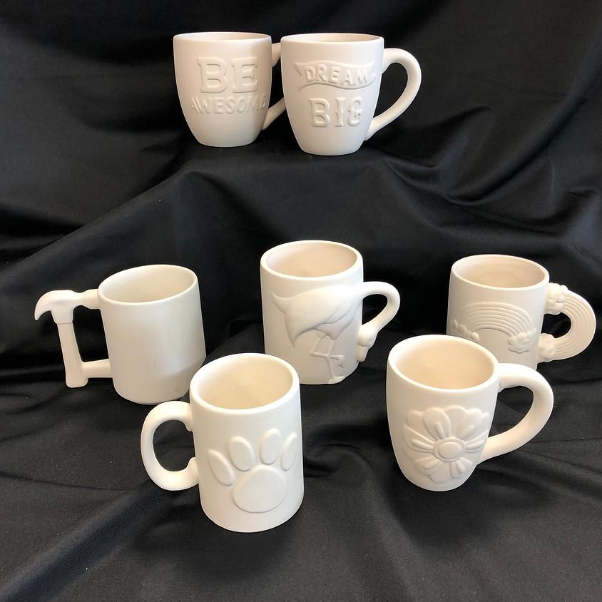 Ceramic Paint: Mugs