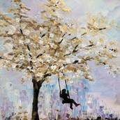 Swinging tree