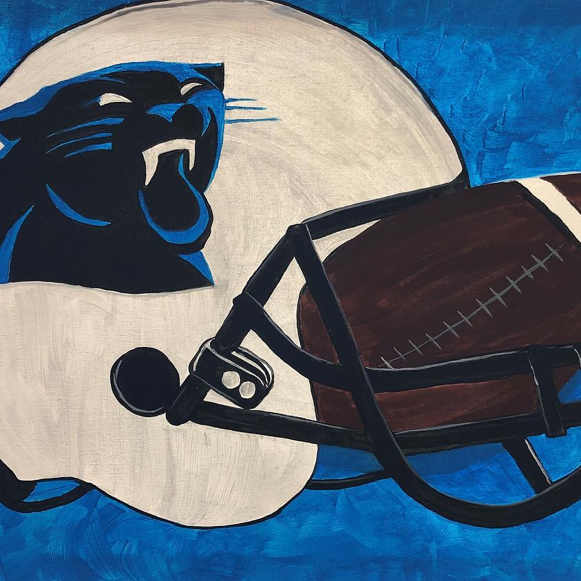 Canvas Paint: Football Fan