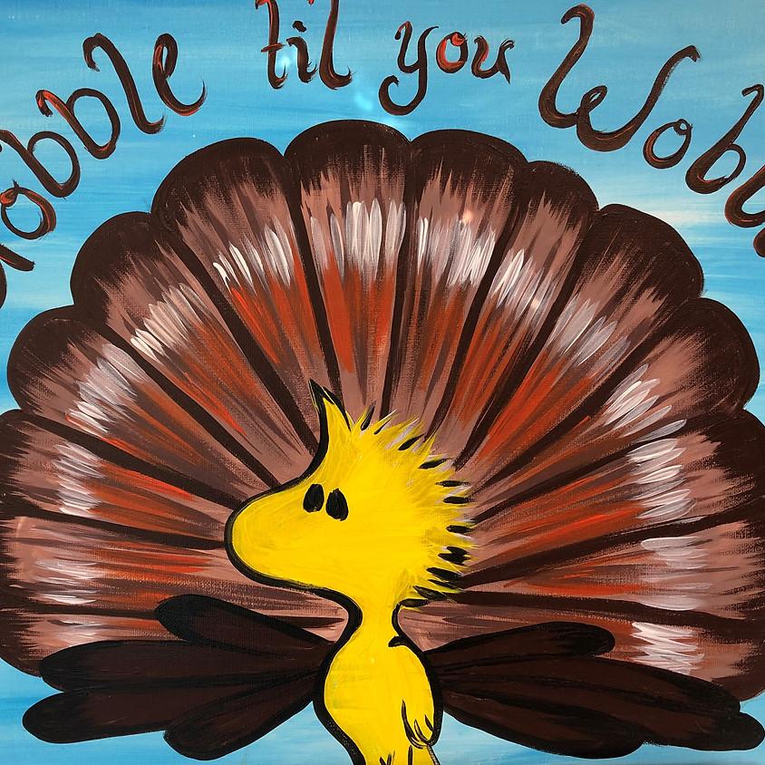 Canvas Paint: Gobble Til You Wobble