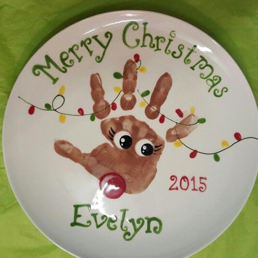 Kids Workshop: Handprint Plates