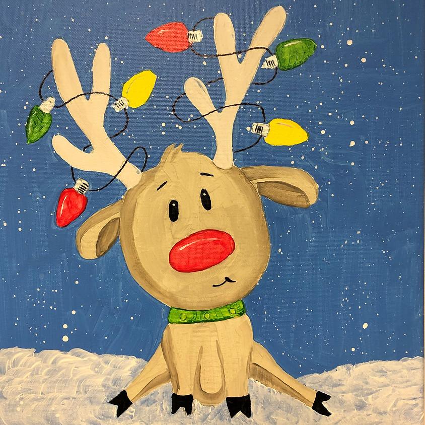 Kids Workshop: Paint a Reindeer
