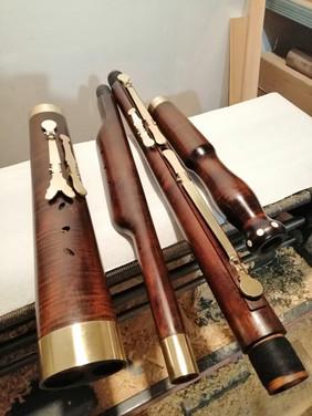 basson  baroque Humeau inspiré modèle Eichentopf Humeau