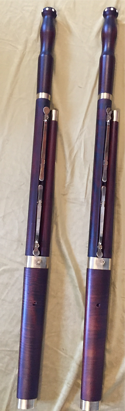 Bassons baoques fabriqués par Augustn HUMEAU, Spécialiste de la fature instrumentale, Humeu Factory