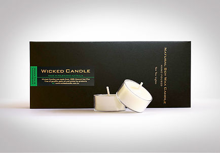 Wicked Candle_Tea Lights_Greentea & Lemo