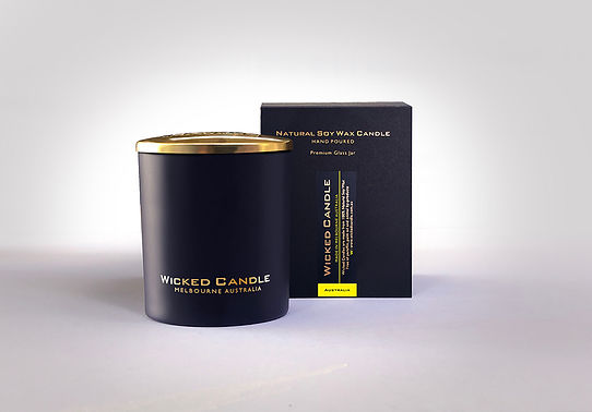 Wicked Candle_Large Black Jar_Australia.