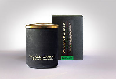 Wicked Candle_Small Concrete Black Jar_G
