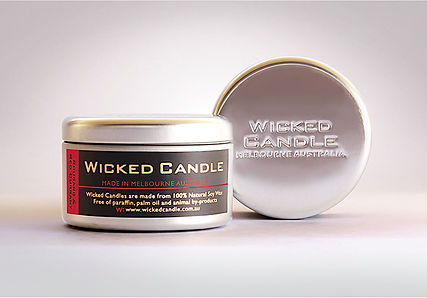 Wicked Candle_Large Tin_Rhubarb & Red Cu