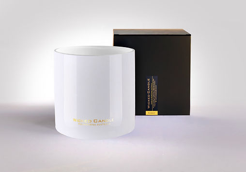 Wicked Candle_4 Wick Large White Jar_Kum