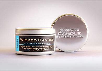 Wicked Candle_Large Tin_European Summer.
