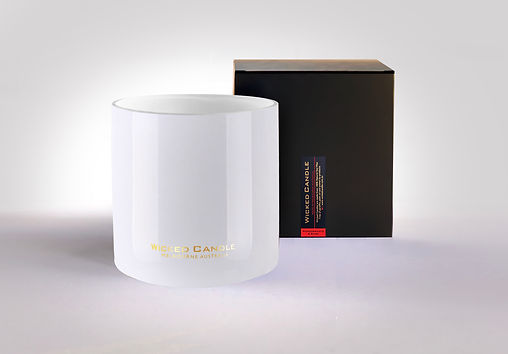 Wicked Candle_4 Wick Large White Jar_Pom