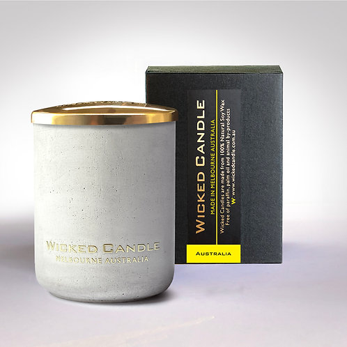 Small Concrete Jar (White) - Australia