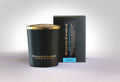 Wicked Candle_Small Black Jar_European S