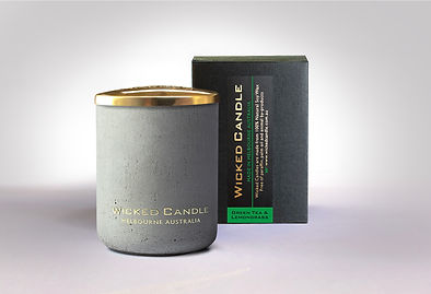 Wicked Candle_Small Concrete Grey Jar_Gr