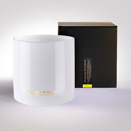 4 Wick Jumbo Jar (White) - Australia