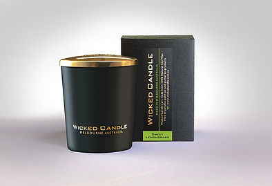 Wicked Candle_Small Black Jar_Sweet Lemo