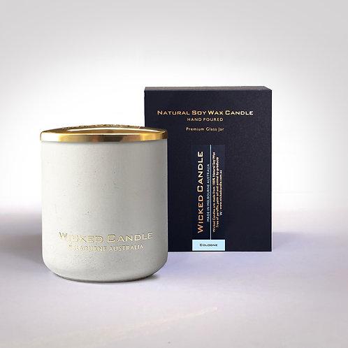 Large Concrete Jar (White) - Cologne