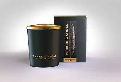 Wicked Candle_Small Black Jar_Sandalwood