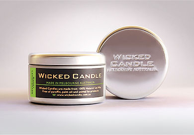 Wicked Candle_Large Tin_Sweet Lemongrass