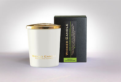 Wicked Candle_Small White Jar_Sweet Lemo
