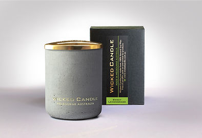 Wicked Candle_Small Concrete Grey Jar_Sw