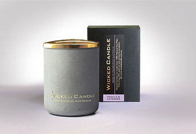 Wicked Candle_Small Concrete Grey Jar_Va