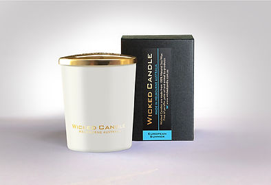 Wicked Candle_Small White Jar_European S