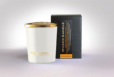 Wicked Candle_Small White Jar_Citrus & B