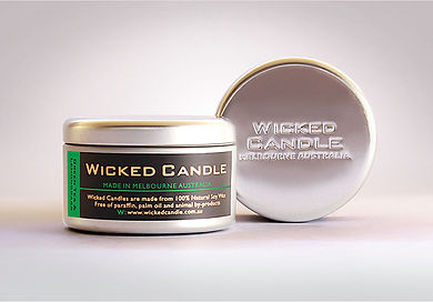 Wicked Candle_Large Tin_Greentea & Lemon