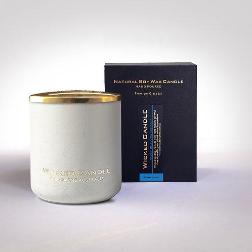 Large Concrete Jar (White) - Paradise
