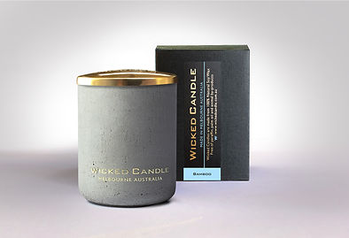 Wicked Candle_Small Concrete Grey Jar_Ba