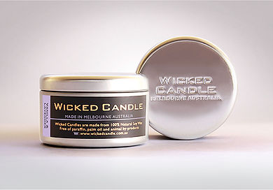 Wicked Candle_Large Tin_Vanilla Lavender