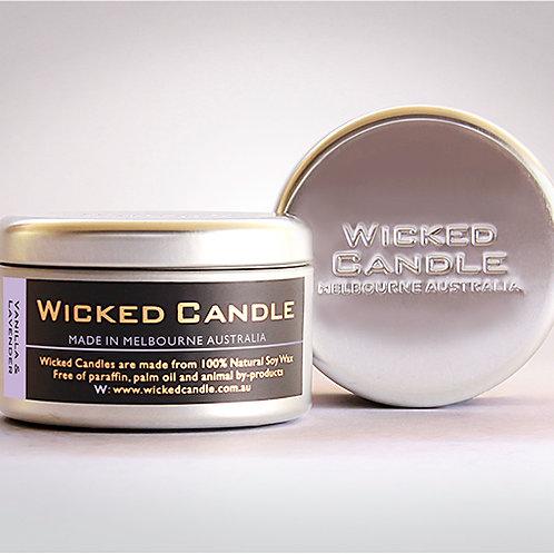 Large Travel Tins - Vanilla Lavender