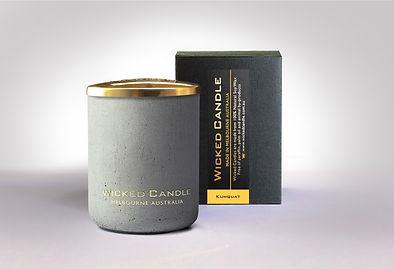 Wicked Candle_Small Concrete Grey Jar_Ku