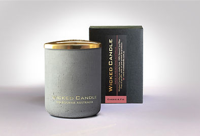 Wicked Candle_Small Concrete Grey Jar_Ca