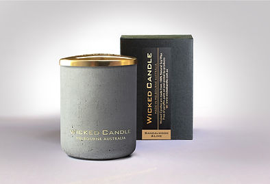 Wicked Candle_Small Concrete Grey Jar_Sa