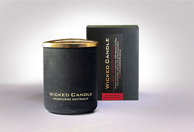 Wicked Candle_Small Concrete Black Jar_R