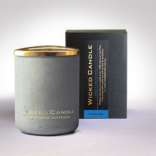Small Concrete Jar (Grey) - Paradise
