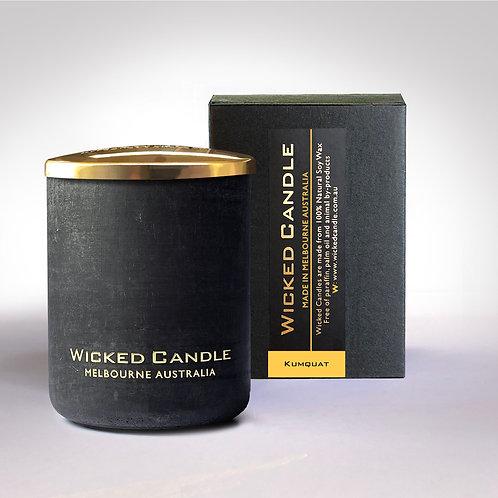 Small Concrete Jar (Black) - Kumquat