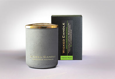 Wicked Candle_Small Concrete Grey Jar_Fr