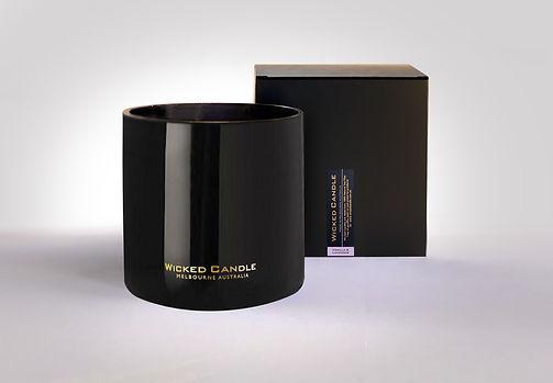 Wicked Candle_4 Wick Large Black Jar_Van