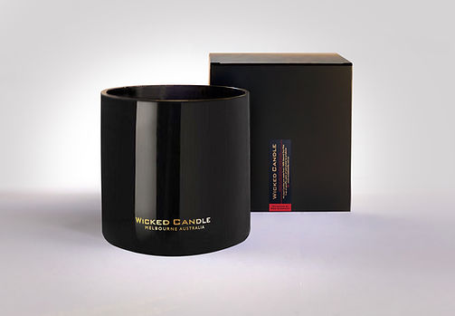 Wicked Candle_4 Wick Large Black Jar_Rhu