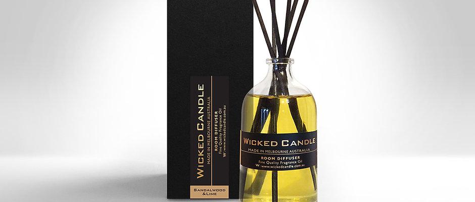 Diffuser - Sandalwood & Lime