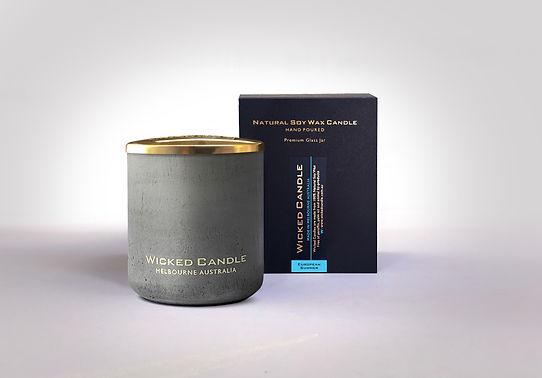 Wicked Candle_Large Grey Jar_Concrete_Eu