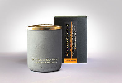 Wicked Candle_Small Concrete Grey Jar_Ci