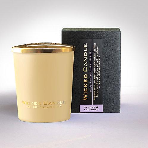 Small Glass Jar (Cream) - Vanilla Lavender